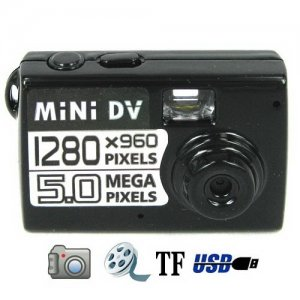 High-definition Mini Camera Support HD Video Recorder - 60 Degree View-range